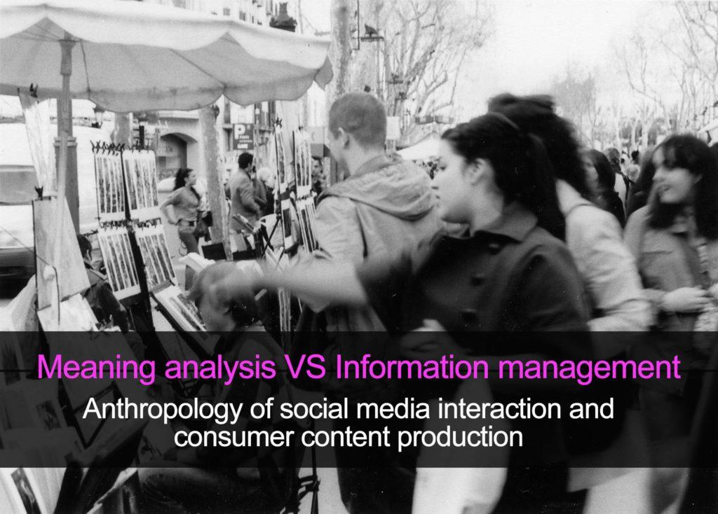Gestión de significados - antropología aplicada a empresas
