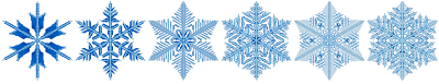 Copos de nieve, ejemplo del diseño en la naturaleza